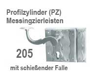 drr dorfschmied kastenschloss mit schie falle serie 205. Black Bedroom Furniture Sets. Home Design Ideas